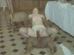 Pale Woman And Dismal Menial Teensy-weensy midget dwarf cumshots swallow